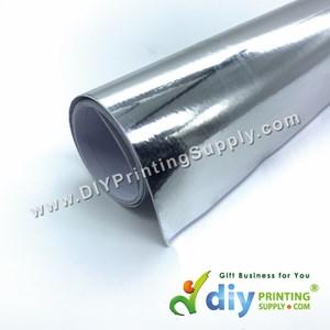 Self-Adhesive Film (Silver) (Glossy) (1m X 40cm)