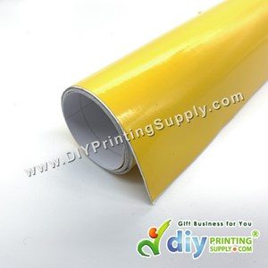 Self-Adhesive Film (Yellow) (Glossy) (1m X 40cm)