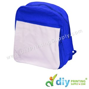 School Backpack (Kid) (Blue) (39 X 10 X 33cm)