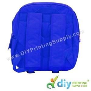 School Backpack (Kid) (Blue) (39 X 10 X 33cm)