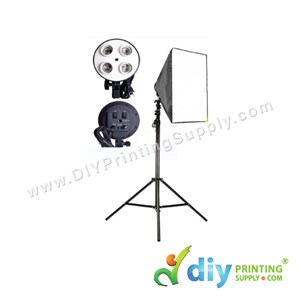 Soft Box Stand [With Bulb]