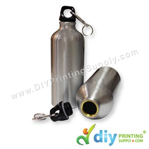 Sport Flask (Aluminium) (Silver) (600Ml) With White Box