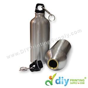 Sport Flask (Aluminium) (Silver) (600Ml) With White Box