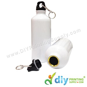 Sport Flask (Aluminium) (White) (600Ml) With White Box