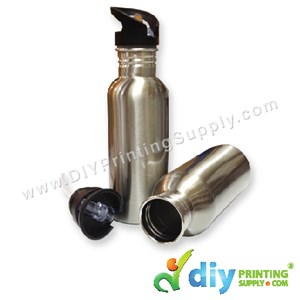 Sport Flask (Stainless Steel) (Silver) (600Ml) With Box