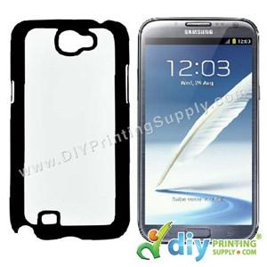 Samsung Casing (Galaxy Note 2) (Plastic) (Black)*
