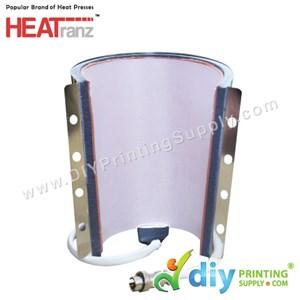 Silicone Mug Wrap (12oz) (Cone)