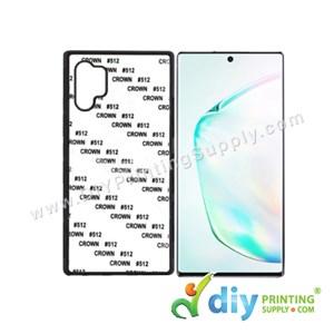 Samsung Casing (Galaxy Note 10) (Plastic) (Black)*