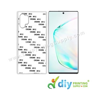 Samsung Casing (Galaxy Note 10) (Plastic) (White)*