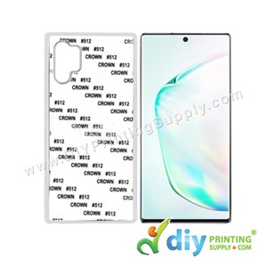 Samsung Casing (Galaxy Note 10 Plus) (Plastic) (White)*