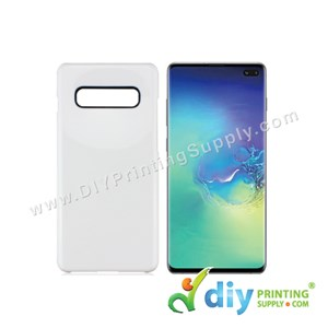 Samsung Casing (Galaxy S10) (Plastic) (White)