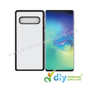Samsung Casing (Galaxy S10 Plus) (Plastic) (Black)