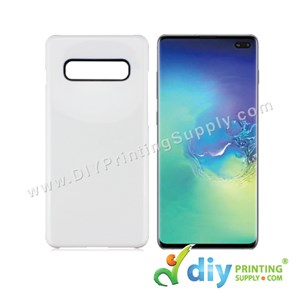 Samsung Casing (Galaxy S10 Plus) (Plastic) (White)
