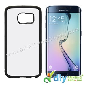 Samsung Casing (Galaxy S6 Edge) (Plastic) (Black)