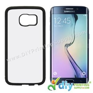 Samsung Casing (Galaxy S6 Edge) (Plastic) (Black)