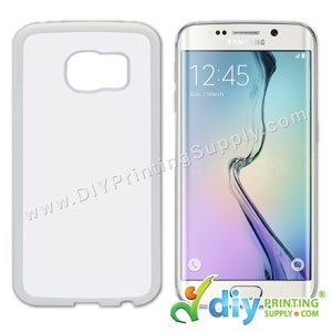 Samsung Casing (Galaxy S6 Edge) (Plastic) (White)
