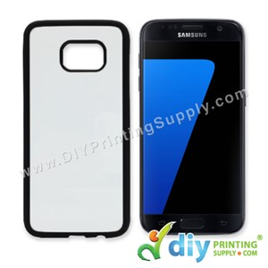 Samsung Casing (Galaxy S7 Edge) (Plastic) (Black)