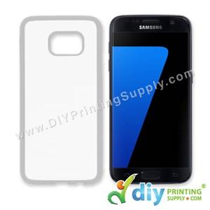 Samsung Casing (Galaxy S7 Edge) (Plastic) (White)