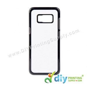 Samsung Casing (Galaxy S8 Plus) (Plastic) (Black)