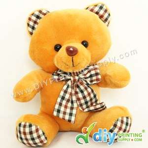 Teddy Bear [Smart] (Coffee) (17cm) With Suction Cup