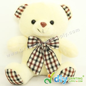 Teddy Bear [Smart] (Beige) (17cm) With Suction Cup