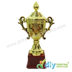 Trophy Award With Aluminium Board (Large) (28cm)
