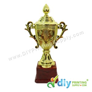 Trophy Award With Aluminium Board (Medium) (25cm)