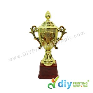 Trophy Award With Aluminium Board (Small) (20cm)
