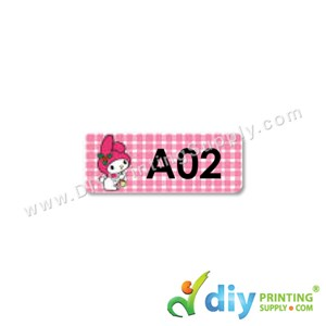 Name Sticker (Small) (1,800Pcs) (5M) [Melody]