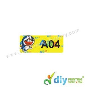 Name Sticker (Small) (1,800Pcs) (5m) [Doraemon]