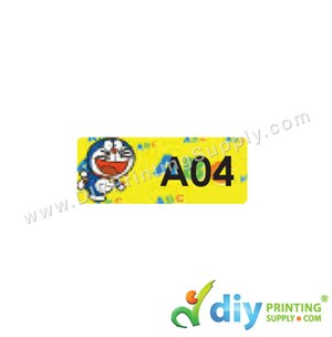 Name Sticker (Small) (1,800Pcs) (5M) [Doraemon]