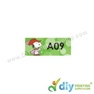 Name Sticker (Small) (1,800Pcs) (5m) [Snoopy]