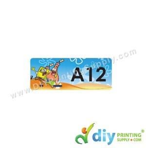 Name Sticker (Small) (1,800Pcs) (5M) [Spongebob]