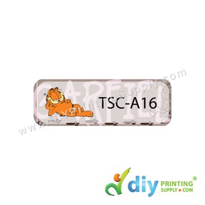 Name Sticker (Small) (1,800Pcs) (5M) [Garfield]