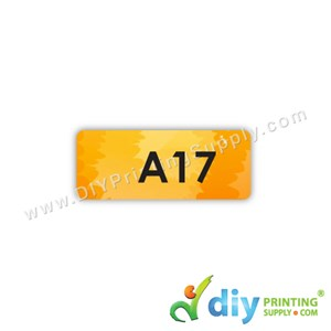 Name Sticker (Small) (1,800Pcs) (5M) [Scenery]