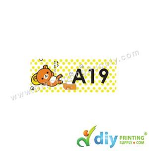 Name Sticker (Small) (1,800Pcs) (5M) [Rilakkuma]
