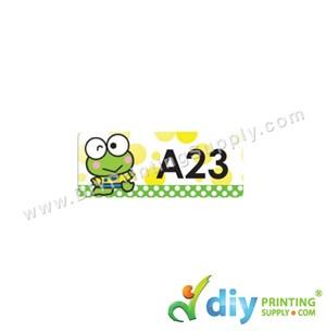 Name Sticker (Small) (1,800Pcs) (5M) [Keroppi]