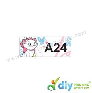 Name Sticker (Small) (1,800Pcs) (5M) [Marie Cat]