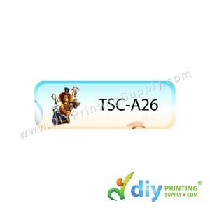 Name Sticker (Small) (1,800Pcs) (5m) [Madagascar]