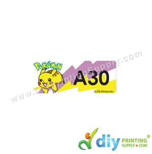 Name Sticker (Small) (1,800Pcs) (5M) [Pokemon]