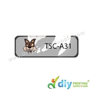 Name Sticker (Small) (1,800Pcs) (5m) [Big Big Wolf]