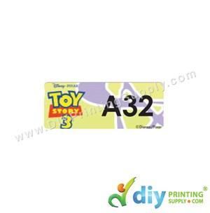 Name Sticker (Small) (1,800Pcs) (5M) [Toy Story]