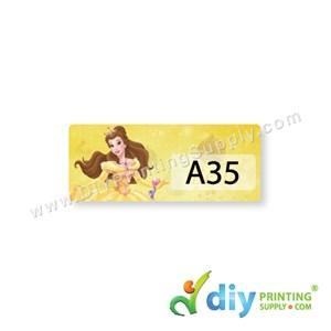 Name Sticker (Small) (1,800Pcs) (5M) [Princess]