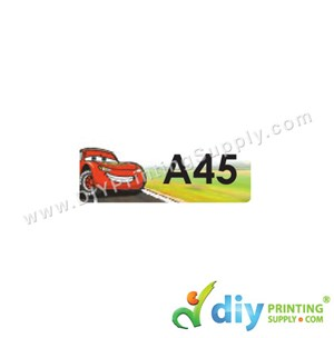 Name Sticker (Small) (1,800Pcs) (5M) [Cars]