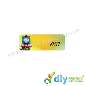 Name Sticker (Small) (1,800Pcs) (5M) [Thomas Train]