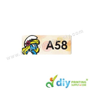 Name Sticker (Small) (1,800Pcs) (5M) [The Smurf]