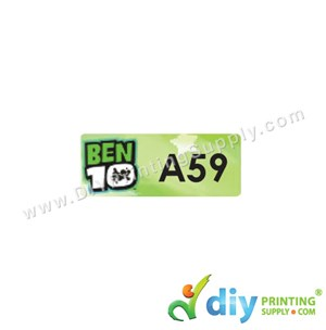 Name Sticker (Small) (1,800Pcs) (5M) [Ben 10]
