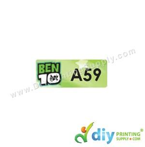 Name Sticker (Small) (1,800Pcs) (5M) [Ben 10]