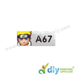 Name Sticker (Small) (1,800Pcs) (5M) [Naruto]