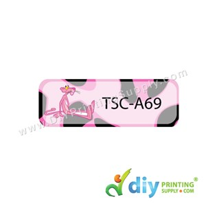 Name Sticker (Small) (1,800Pcs) (5m) [Pink Panther]